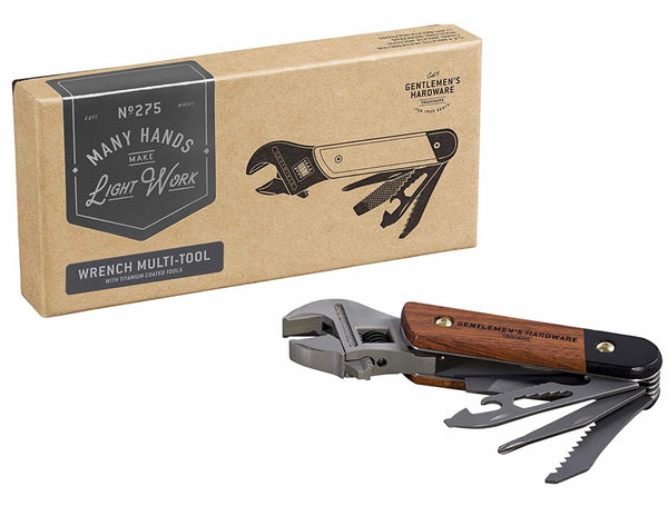 Gentlemen's Hardware- Wrench Multi-Tool