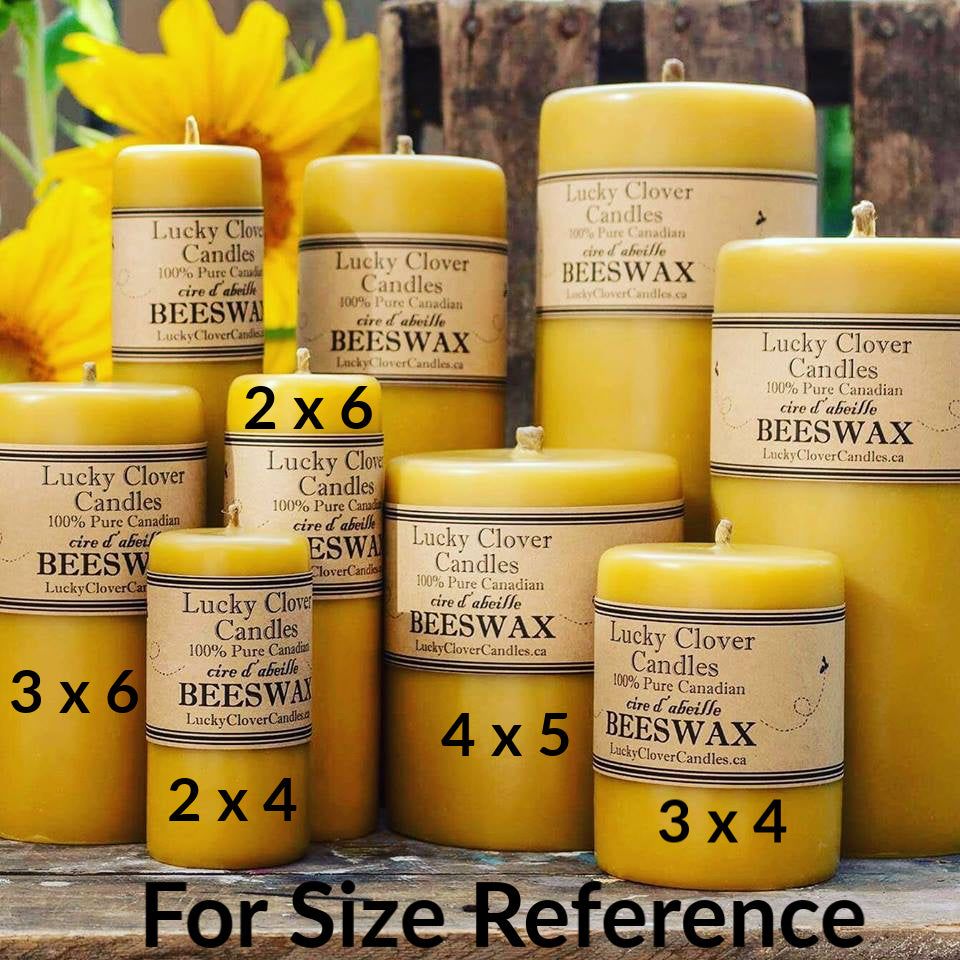 Lucky Clover - Beeswax Candles