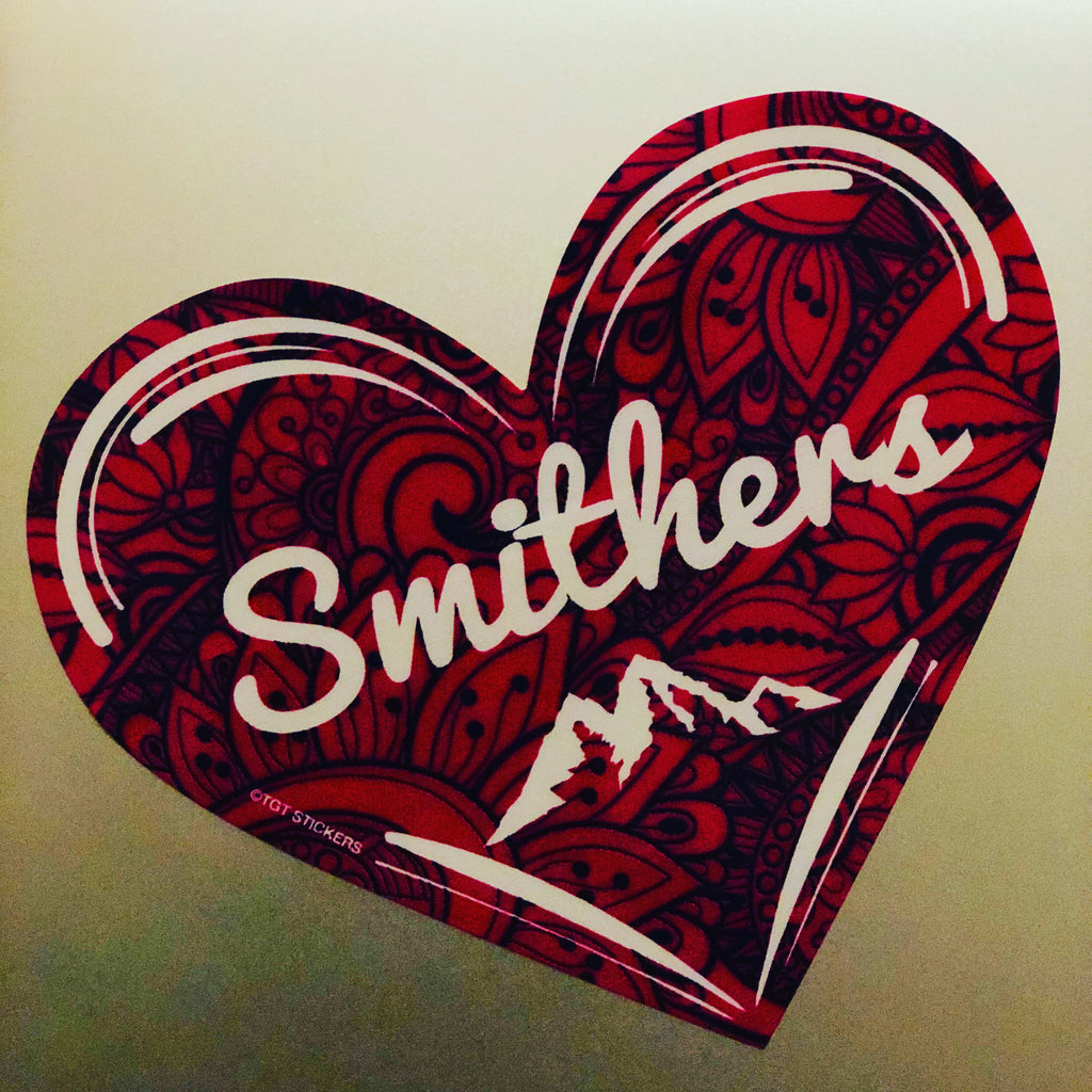 Sticker- Smithers (Heart)
