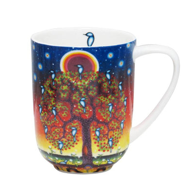 Porcelain Mug, Tree Of Life-James Jacko