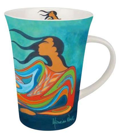 Porcelain Mug, Mother Earth-Maxine Noel