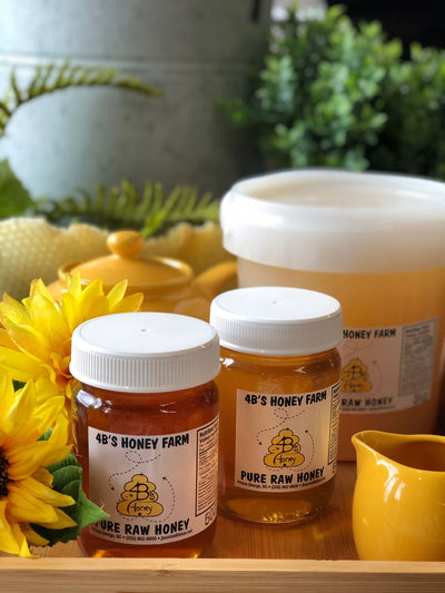 4B's Honey Farm - Pure Raw Honey