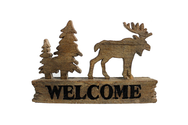 Splash- Moose & Tree Welcome Decoration