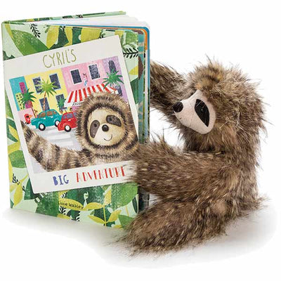Jellycat- Cyril's Big Adventure, Book