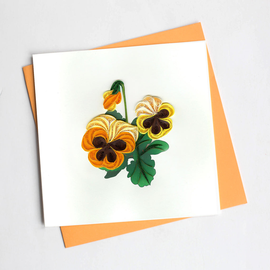 Quilling Card- Hand Crafted, Love Locks