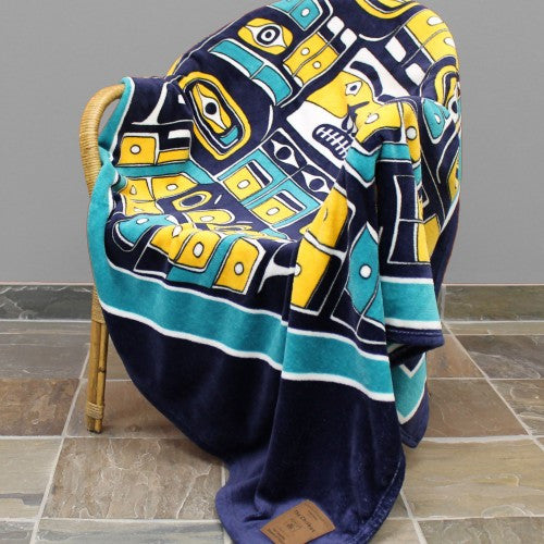 Kanata- The Chilkat, Velura Throw
