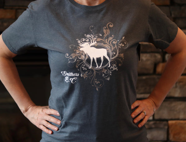 Moose - Smithers BC - Ladies T-Shirt