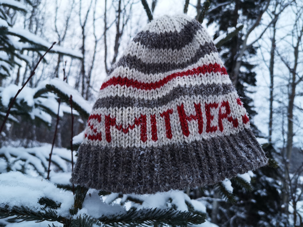 Sharanel- Hand Knit Wool, Smithers Beanie