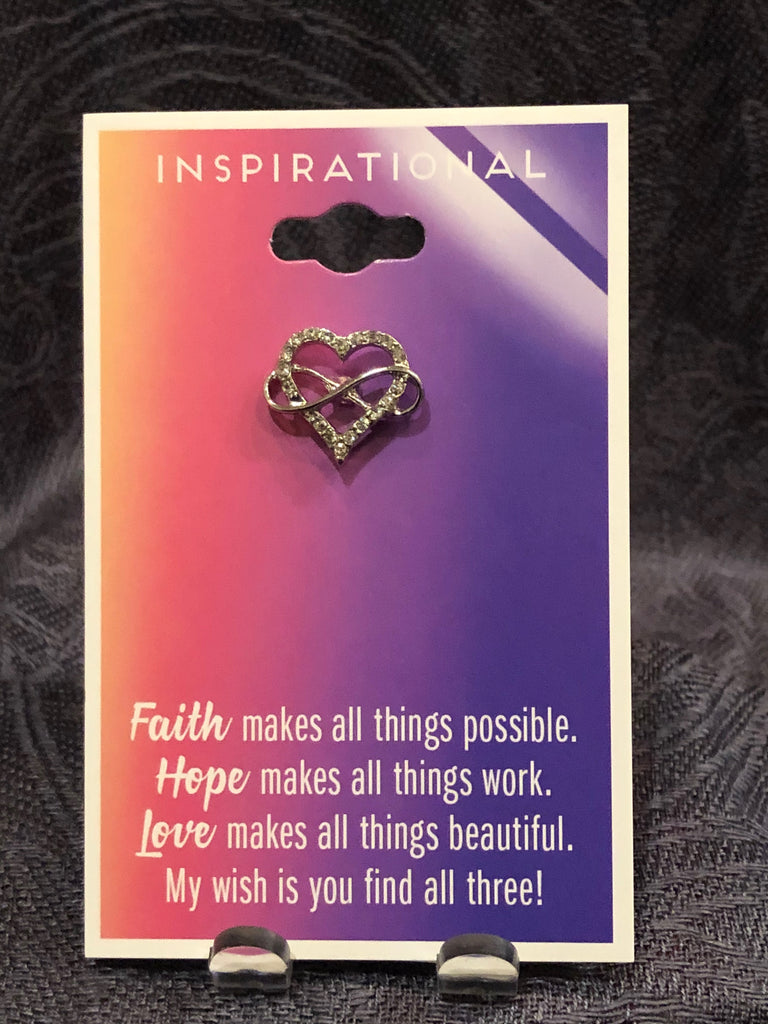 Vanity Fashions-Faith makes all things possible Pin