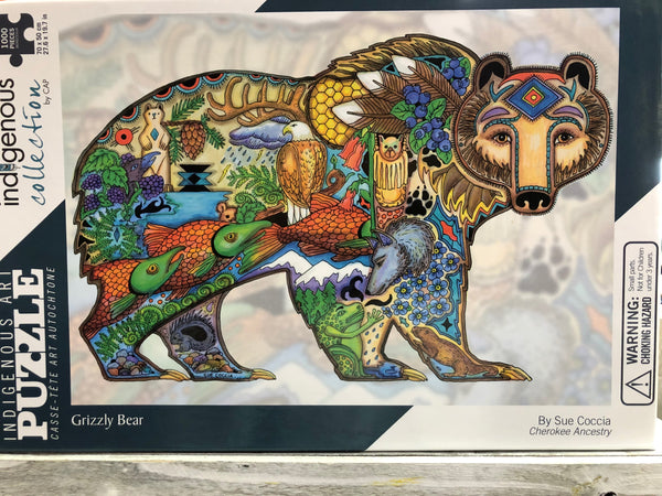 CAP- Indigenous Art Puzzles 1,000 Pieces