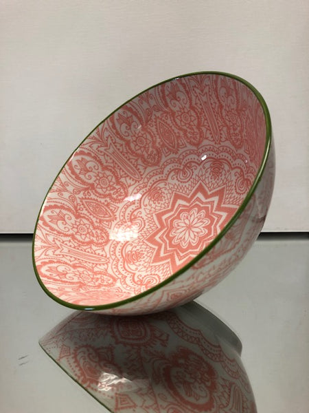 Brilliant- Paisley Peach Bowl, 15cm