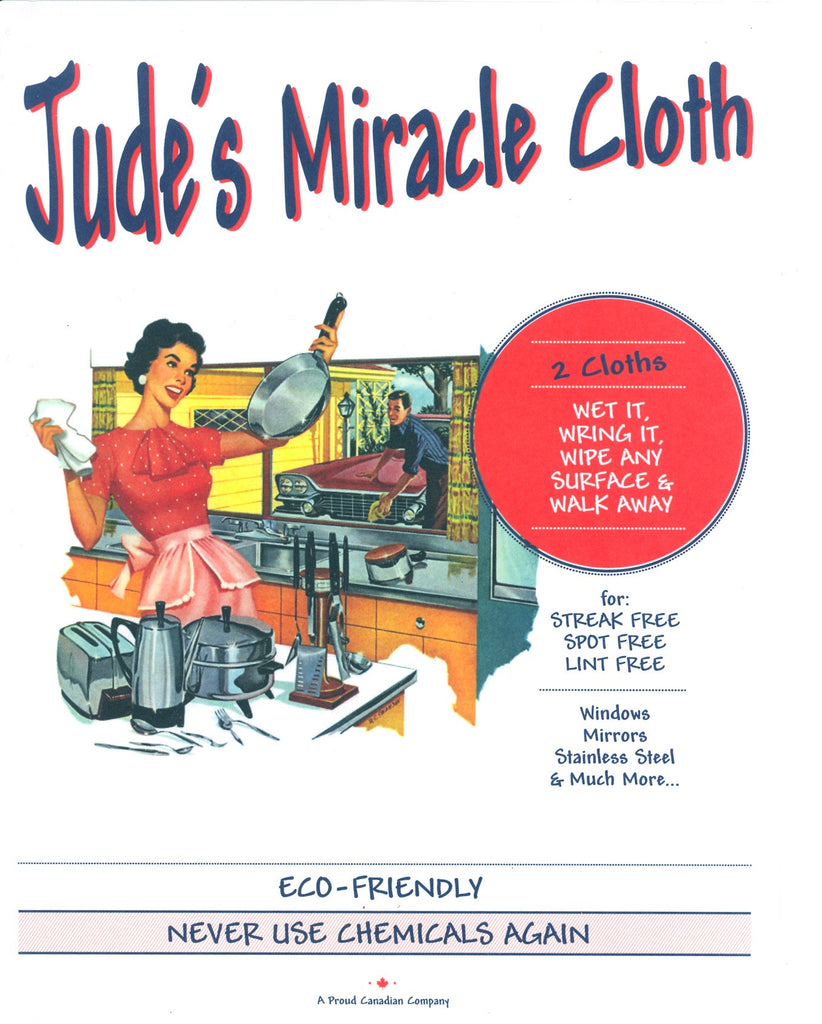 Jude's Miracle Cloth - 1 Cloth