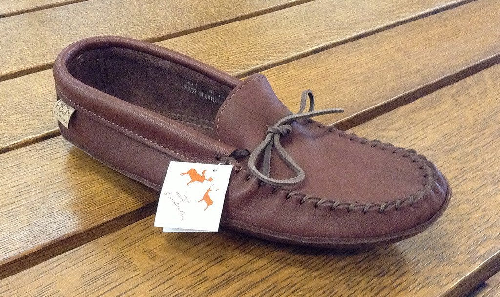 Laurentian Chief- Mens Moccasin Dark Tan #3107M