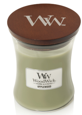 Woodwick- Crackling Candle, Applewood