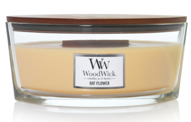 Woodwick- Crackling Candle- Oat Flower
