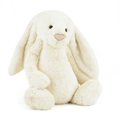 Jellycat- Bashful Bunny, Buttercream - Medium