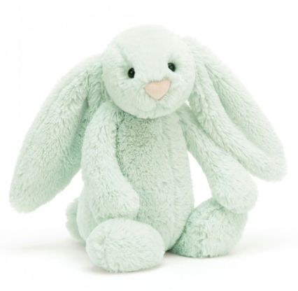 Jellycat- Bashful Bunny, Seaspray - Medium