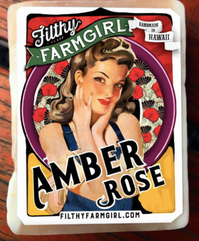 Filthy Farmgirl Soap - Amber Rose