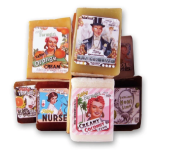 Filthy Farmgirl Soap - Filthy Fisherman - Spiffy Spruce