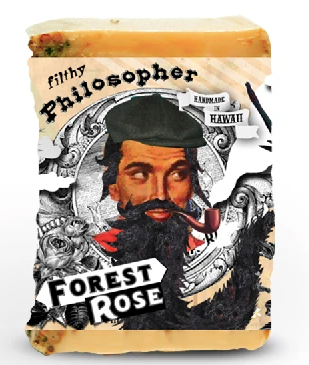 Filthy Farmgirl Soap - Filthy Philosopher - Forest Rose