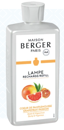 Grapefruit Passion, Lampe Berger