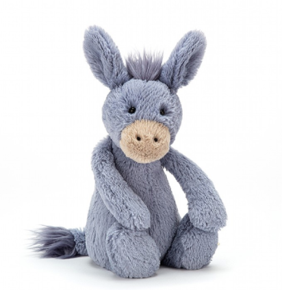 Jellycat- Bashful Donkey (Medium)