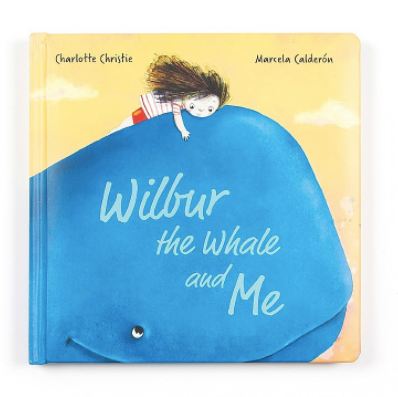 Jellycat- Wilbur the Whale and Me