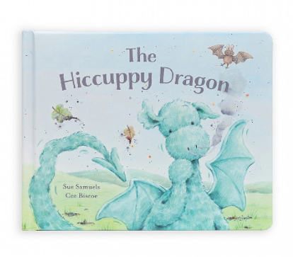 Jellycat- The hiccuppy dragon