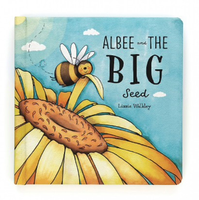 Jellycat- Albee and the big seed