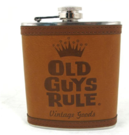 Old Guys Rule- flask
