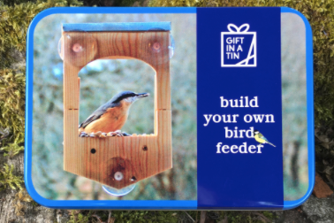 Build Your Own Bird Feeder - Gift in a Tin