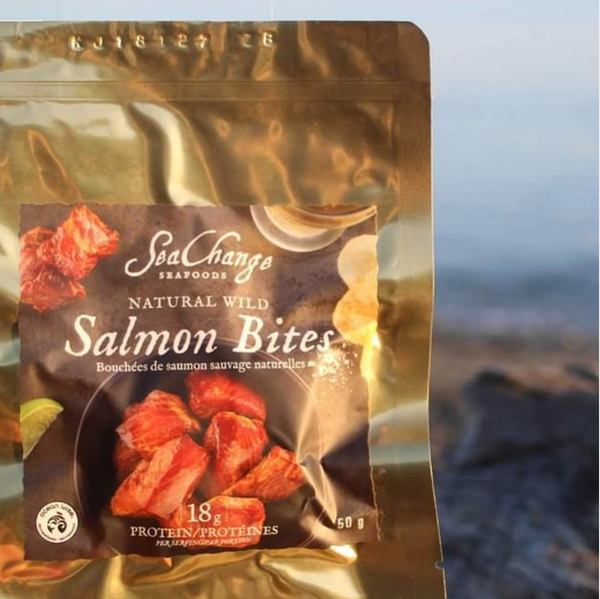 Sea Change Seafood - Natural Wild Salmon Bites
