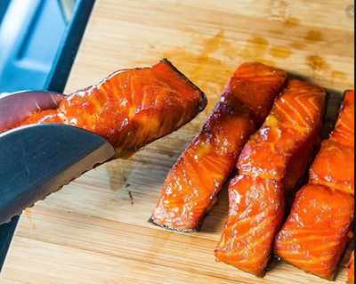 Sea Change Seafood- Smoked Salmon Cedar Box 454g