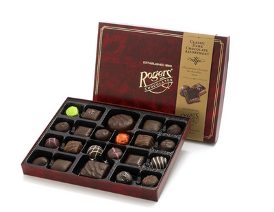 Rogers' Chocolates- Dark Chocolate Assortment