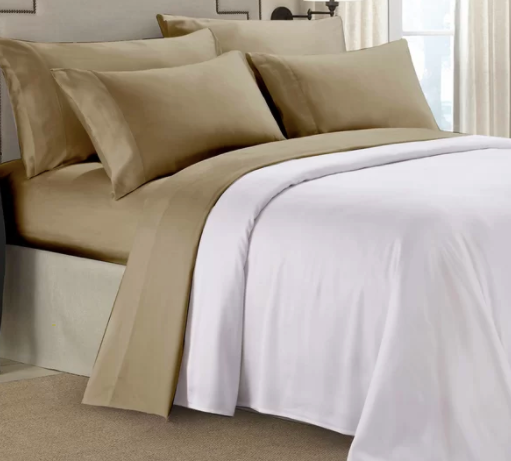 Paarizaat- SALE (CAMEL COLOUR) Microfiber Sheet Sets