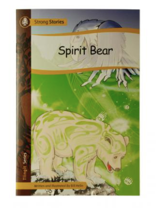 Book, Spirit Bear-Bill Helin