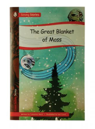 Book, The Great Blanket of Moss-Celestine Aleck