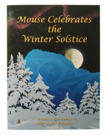 Book, Mouse Celebrates the Winter Solstice-Terri Mack & Bill Helin