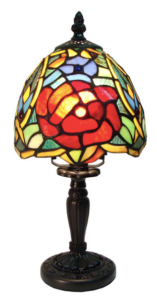 Fine Art Lighting - Tiffany Mini Lamp #T611