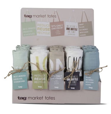 Tag- Reusable Totes