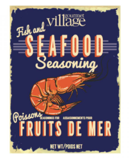 Gourmet du Village-Fish & Seafood Seasoning