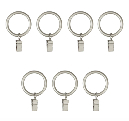 Umbra Curtain Clip Rings