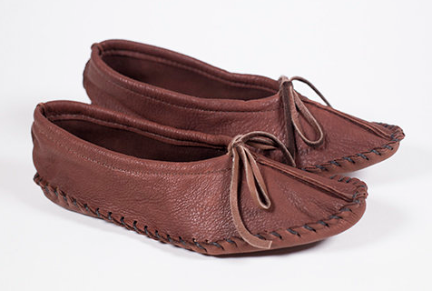 Hides in Hand-Leather Moccasin-50% OFF!