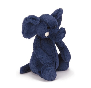 Jellycat- Bashful Blue Elephant, Medium