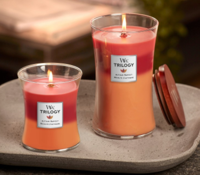 Woodwick - Crackling Candle - Autumn Harvest