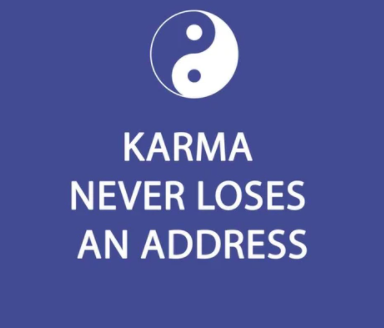 PPD- Karma Never Loses an Address Napkins - 20 Pack