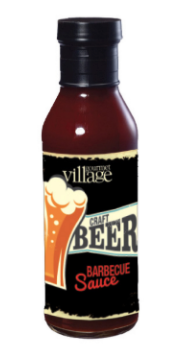 BBQ Sauce-Craft Beer, Gourmet du Village