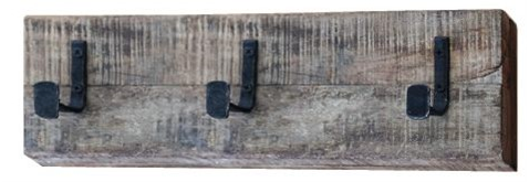 Coat Hook, Reclaimed Army Barracks Wood