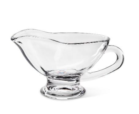 Gravy Boat, Classic Clear