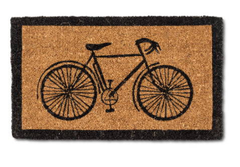 Abbott- Bicycle Doormat